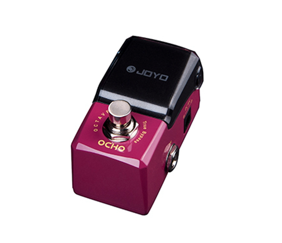 JOYO Octave Pedal OCHO Electric Guitar Effect Pedal Wide And Rich Sound Textures JF-330 joyo guitar effect pedal british sound effect pedal marshall amps simulator jf 16