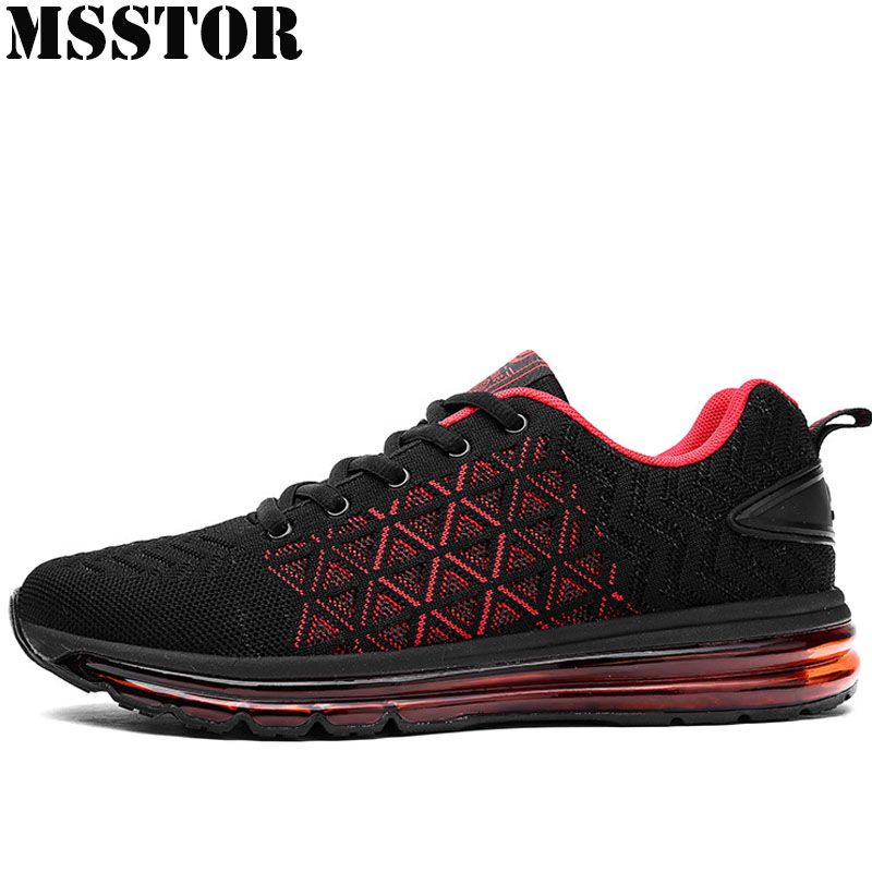 MSSTOR Men Running Shoes Man Brand Sport Shoes For Men Summer Breathable Mesh Male Sports Run Outdoor Athletic Mens Sneakers