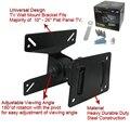 Universal 180 Graus Girado SPHC 10-26 Polegada de Aço Durável Falt Painel LCD LED Plasma TV Wall Mount Bracket