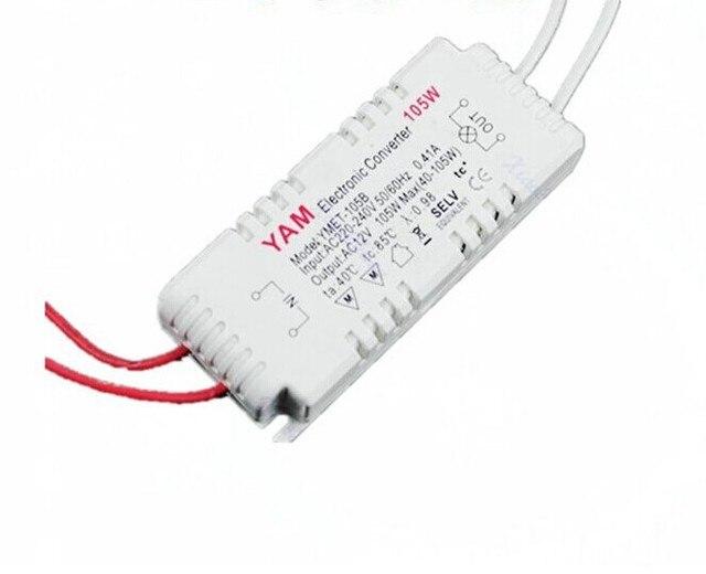 10pcs lot, 105w 12v 220v to 240v halogen light led driver power