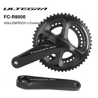 Shimano ULTEGRA FC R8000 53x39T 50x34T 170mm 172.5mm Road Bicycle Crankset Hollow Tech II Bike Chain Wheel