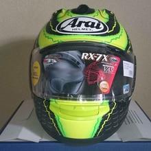 ARAI Corsair X IOM TT 2016 LE Helmet Motorcycle ARAI RX-7X Full Face Motorcycle Helmets RX-7V EU/ CORSAIR-X US Limited Edition
