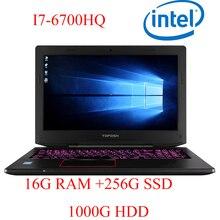 """P6-08 16G DDR4 RAM 256G SSD 1000G HDD i7 6700HQ AMD Radeon RX560 NVIDIA GeForce GTX 1060 4GB 15.6 gaming laptop"""""""