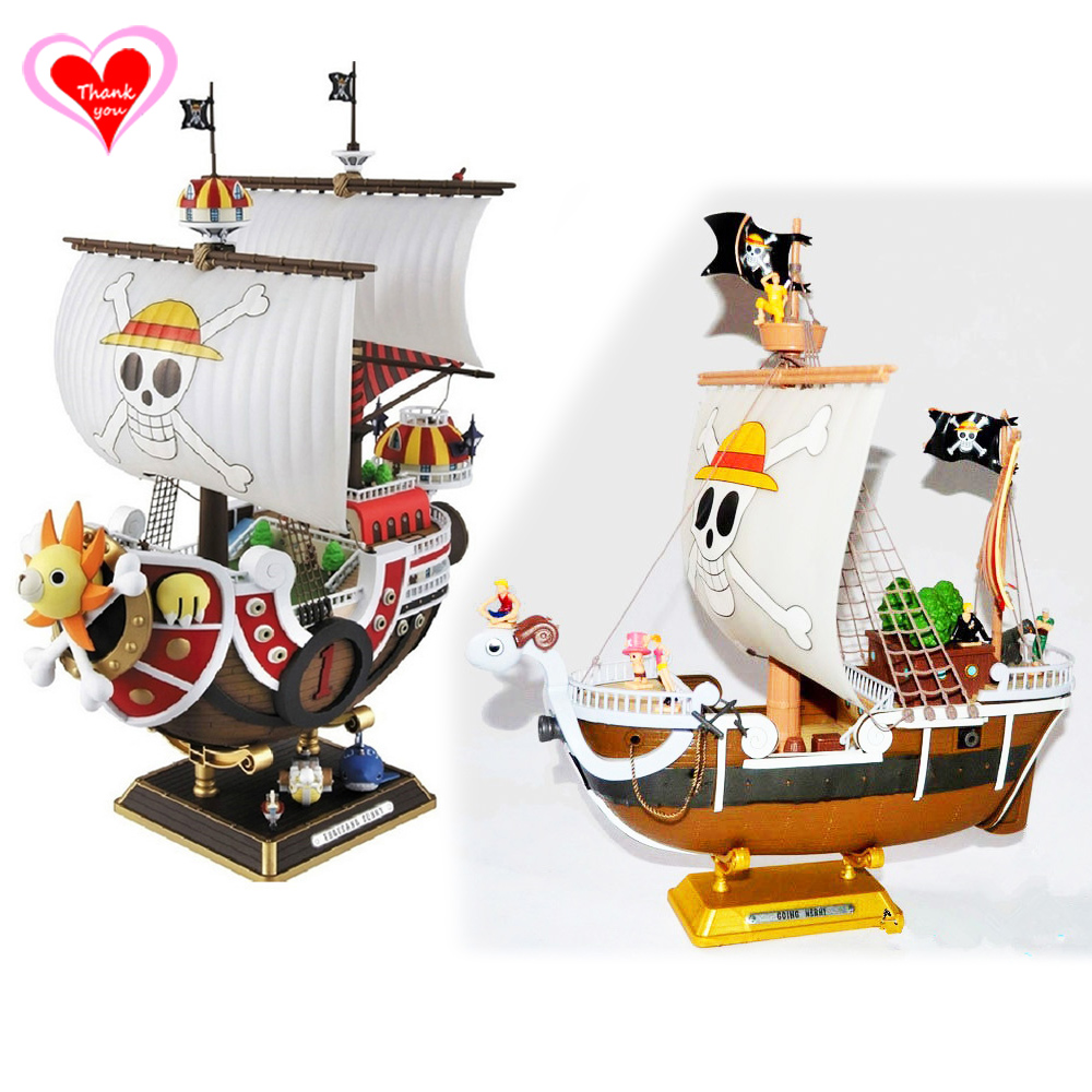 ФОТО Love Thank You One Piece OP Going Merry Thousand Sunny Boat PVC Figure Toy Collection Hobby NEW GIFT