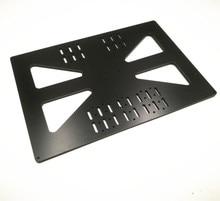 Funssor suporte de cama de alumínio para carregamento, placa de transporte y para prusa i3, 200x300mm