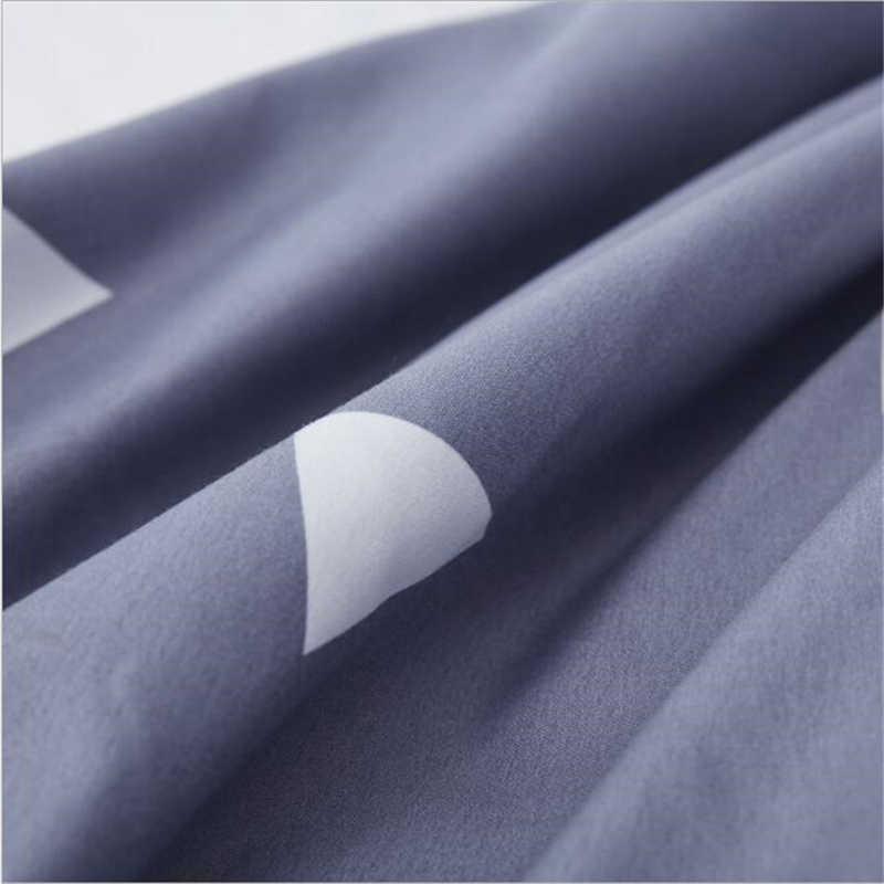 متعدد الألوان الصوفى الطباعة غطاء مرتبة الغبار مكافحة العث المضادة للانزلاق مرونة غطاء السرير تصميم حزمة ثلاثية الأبعاد