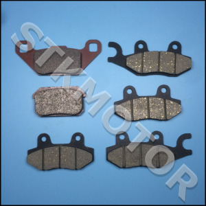 Image 3 - 6pcs KAZUMA 500CC ATV Brake pads For KAZUMA Jaguar 500CC ATV Quad Front Left Front Right and Rear Brake Pads