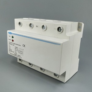 Image 2 - 100A 380V Three Phase four wire Din rail automatic recovery over voltage and under voltage protective protection relay