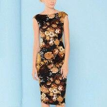 Maxi New Plus Size Summer Dress Women Bodycon Floral Tropical Printed High Waist Tube Wrap Pencil Midi Falda Femininas 2157 -1