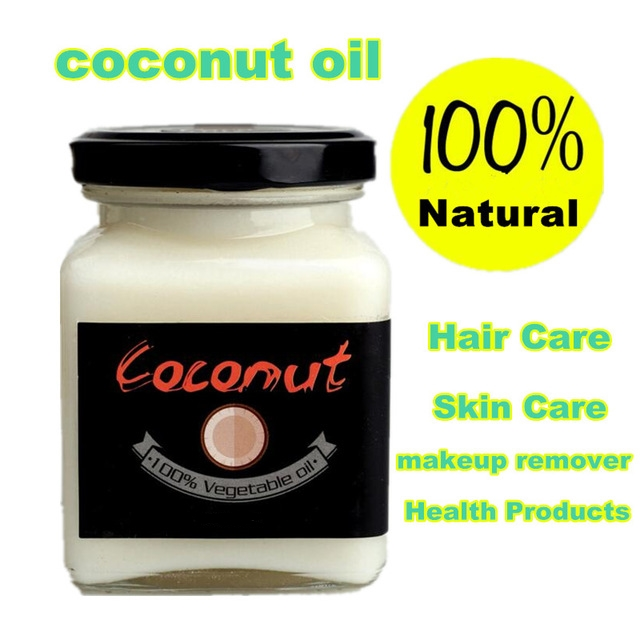 Natural cold pressed virgin coconut oil Skin care hair care makeup remover protect teeth essential oil Natural Health Products сковорода биол с антипригарным покрытием диаметр 26 см