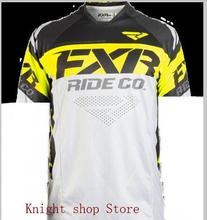 2019 new  FXR summer cycling jersey motocross short-sleeved mtb enduro