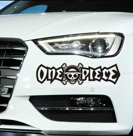 (3 pieces/lot) One Piece Car Stickers Car Head Decoration Accessories Car Stickers For Golf MK7 Mazda CX 5 Jetta MK6