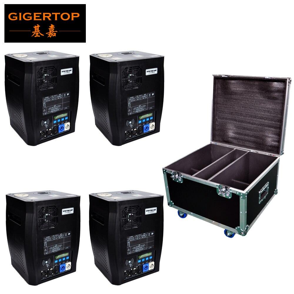 Gigertop TP-T600W Eletrônico Fase Fria Sparkular DMX Máquina De Controle Remoto Sem Fio Opcional Conter 200g de Pó de Titânio