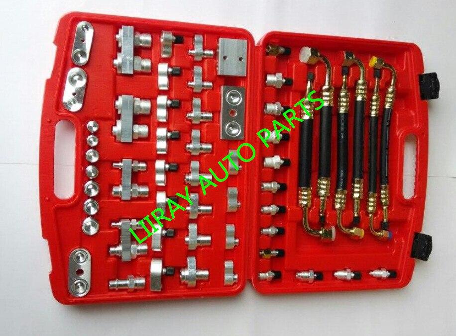 AUTO AC rilevamento di Perdite lato/adattatore strumenti collettore per compressore Dell'aria Condizionata Automotive/condensatore/evaporatore