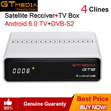 IPTV Cccam Android 6.0 Smart TV BOX dvb-s2 Satellite Receive