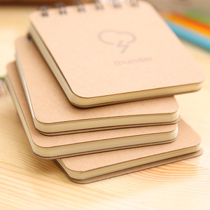 Korean stationery weather forecast series coil notebook wholesale notebook Office & School Supplies