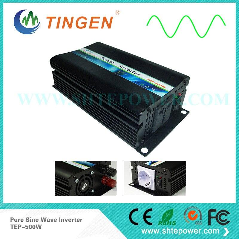 TEP-500W inverter output AC 220V 230V 110V 120V choices for different countries 500W power inverter pure sine wave DC 12V input цены