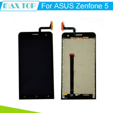 for Asus Zenfone 5 Black Full New LCD Display Panel Screen Touch Screen Digitizer Glass Lens