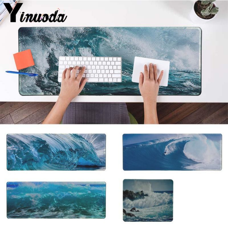 Yinuoda waves SEA ocean water light refractions Laptop Gaming Mice Mousepad Size for 30x90cm and 40x90cm Gaming Mousepads