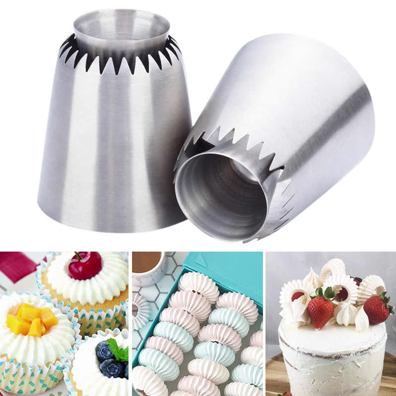 Icing Piping Nozzle Stainless Steel DIY Cake Decoration Cream Pastry Flower Tips Baking Tool LBShipping