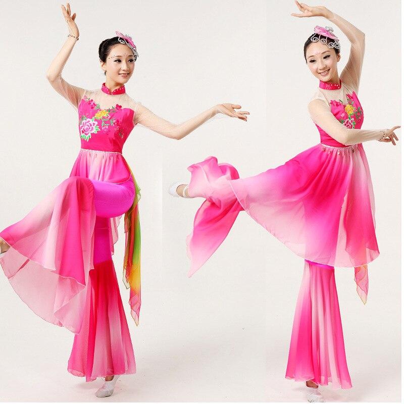 2018 verano danza oriental trajes mujeres trajes orientales chino ...