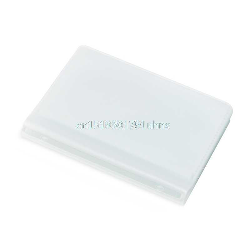 5x6 Página 24 tarjeta de plástico cartera insertar para tarjetas de crédito de negocios