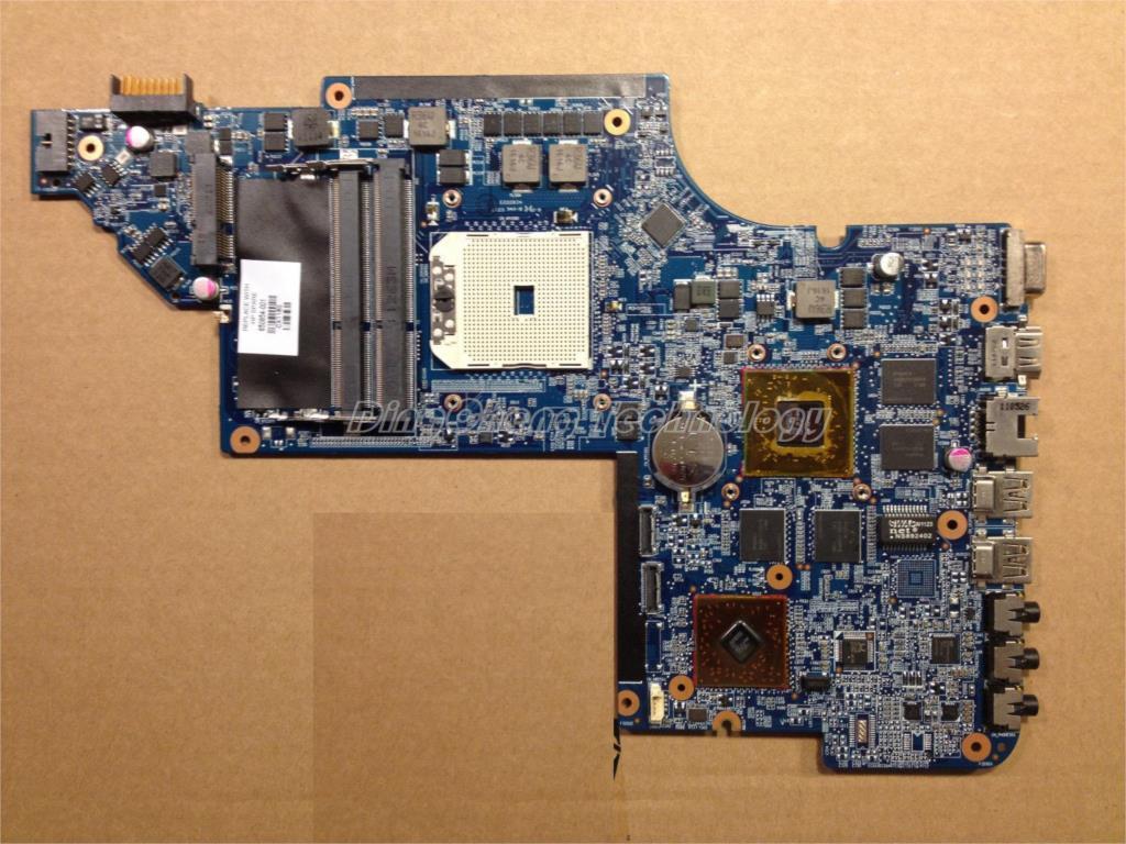Laptop Motherboard for hp DV6 DV6-6000 notebook mainboard 665284-001 A70M HD6750/1G DDR3 100% TestedLaptop Motherboard for hp DV6 DV6-6000 notebook mainboard 665284-001 A70M HD6750/1G DDR3 100% Tested