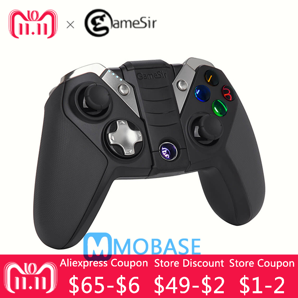 все цены на GameSir G4s Gamepad for PS3 Controller Bluetooth 2.4GHz Wired snes nes N64 Joystick PC for SONY Playstation 3 for Controle PS3