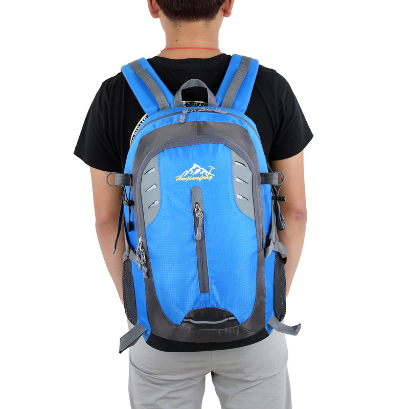 Travel Climbing Backpacks Men Travel Bags Waterproof 40L Hiking Backpacks Outdoor Camping Sport Bag Backpack 305 in Backpacks from Luggage Bags