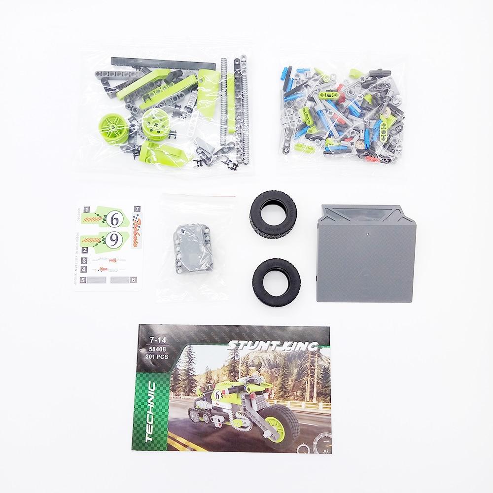 Tehnički motor dječji blok obrazovne igračke za djecu dječaci - Izgradnja igračke - Foto 5
