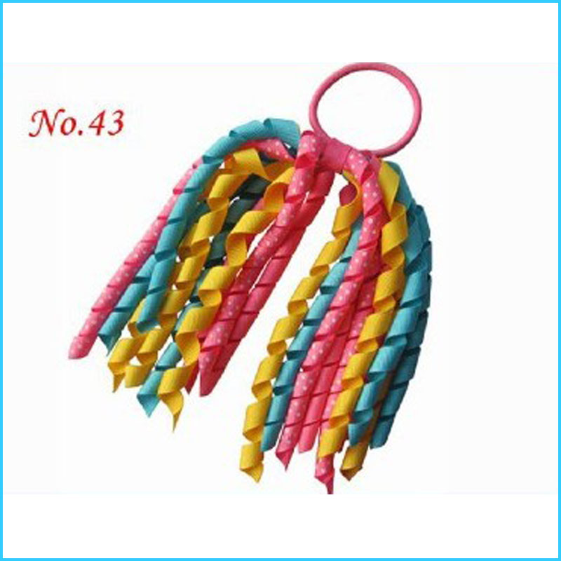 Elastic Clip 100 BLESSING Good Girl Corker Ponytail 60 No. Streamers Bow 96 No