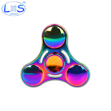 New Colorful Fidget Spinner EDC Toy Metal Hand Spinner Rotation Time Long For Autism and ADHD Kids/Adult Funny Anti Stress