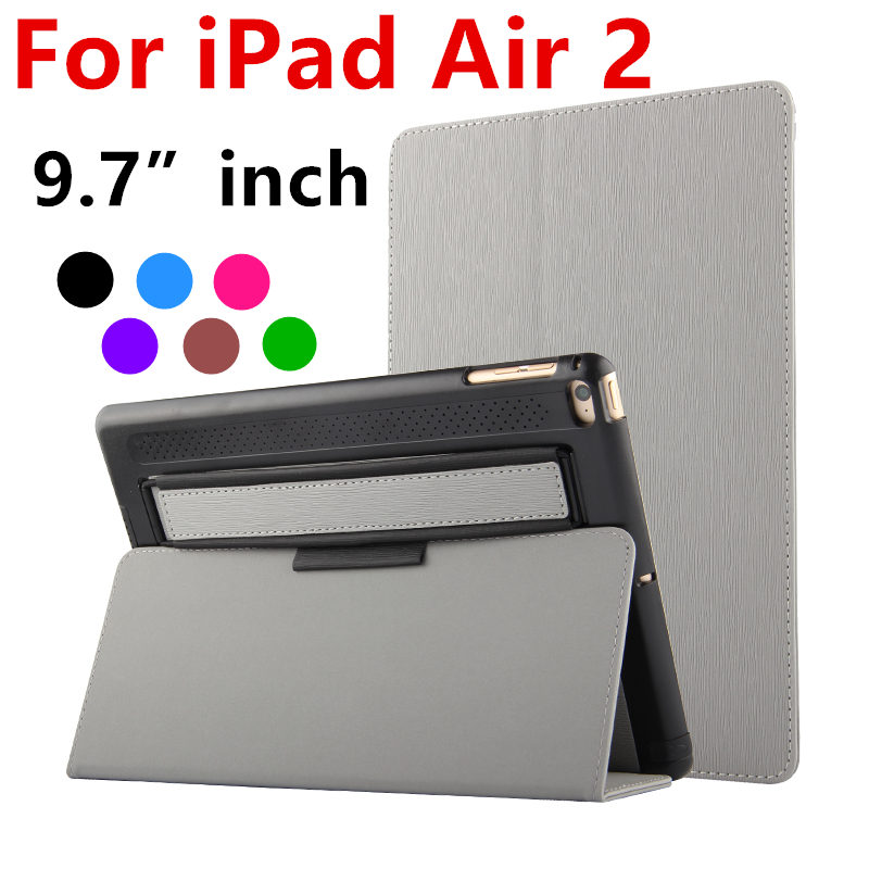 Case For Apple iPad Air 2 Protective Smart cover With Stand Card Leather Protector For ipad Air2 6 Tablet 9.7