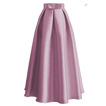 8e0805078 Faldas de talla grande Falda Mujer Moda 2019 Abaya Dubai turco largo  plisado Maxi falda de cintura alta Mujer Jupe Longue Mujer faldas