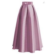 Abaya-Faldas de talla grande para Mujer, Faldas de Moda, largo plisado, turco, turco, de cintura alta, Jupe, larga, 2020