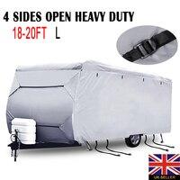 Mayitr Caravan камперван крышка Чехлы для автомобиля Водонепроницаемый УФ 4 стороны открыты сверхмощный пыли Protecter Внешние аксессуары S/M/L /xxl