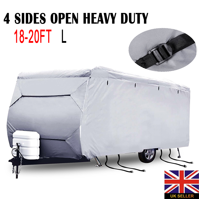 Mayitr Caravan Campervan Cover Car Covers Waterproof UV 4 Sides Open Heavy Duty Dust Protecter Exterior Accessories S/M/L/XXL женские блузки и рубашки uv 5 s xxl