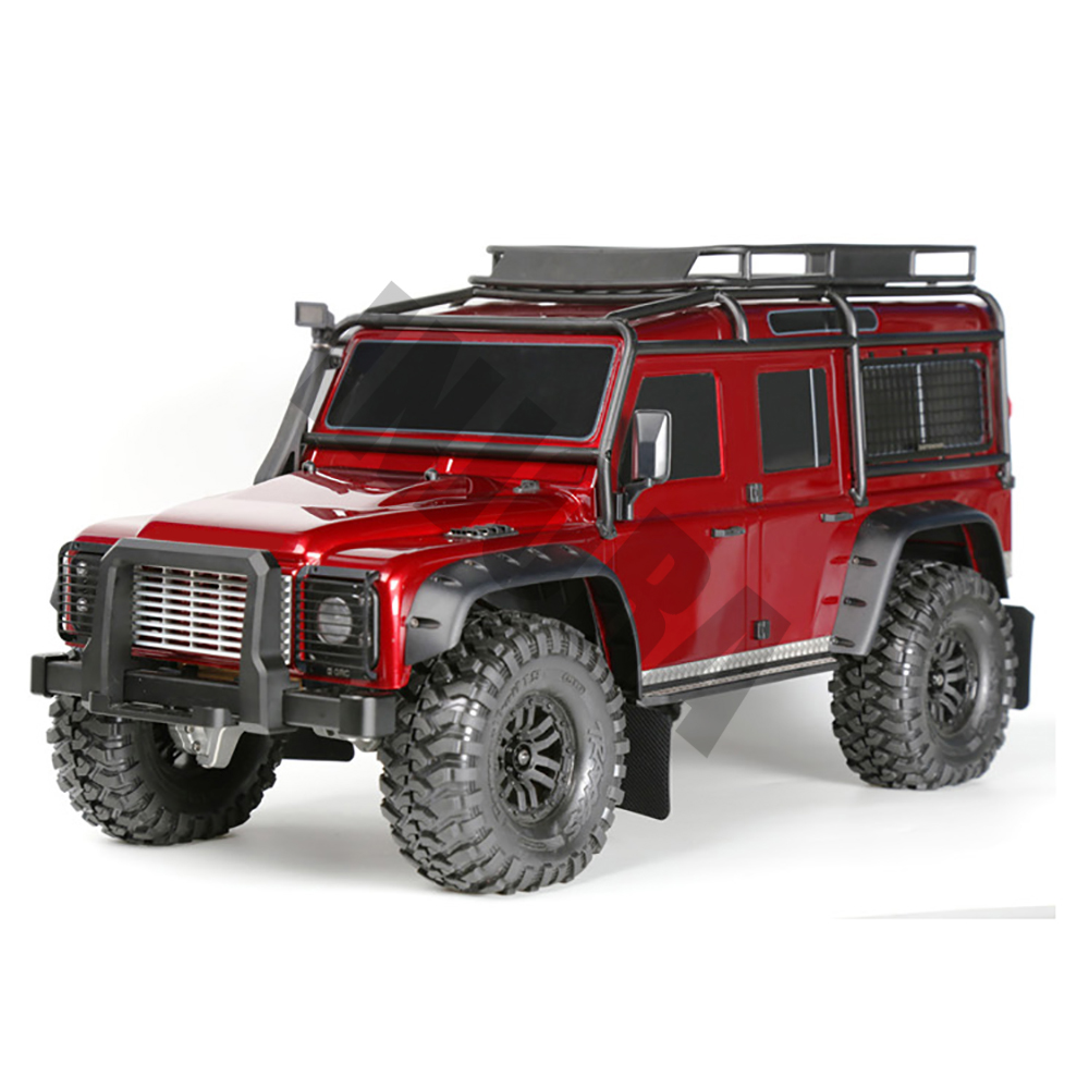 Image 5 - INJORA TRX4 RC Car Front & Rear Mud Flaps Rubber Fender for 1/10 RC Crawler Traxxas Trx 41/10 rcrc crawlercrawler rc 1/10 -