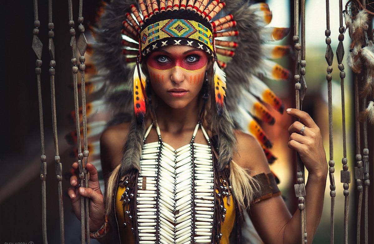 Aliexpress Buy Native American Girl Hunter Makeup