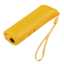 1pcs Ultrasound Dog Training Repeller Control Trainer Device 3 in 1 Anti-barking Stop Bark Deterrents Dogs Pet