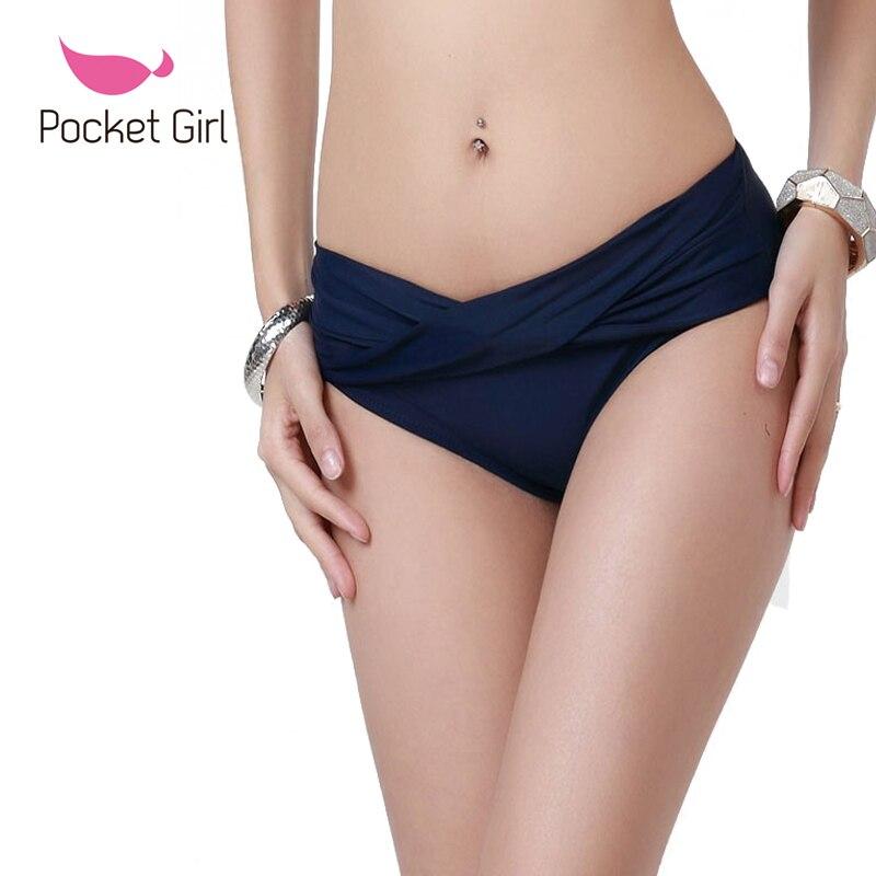 2017 femmes Bikini bottom maillots de bain Mémoires maillots de bain split maillot de bain Brésilien Bas Maillot de Bain String Bas Shorts de Plage