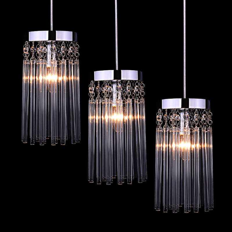 Simple modern LED crystal circular small  Pendant Lights restaurant bedroom book room European style porch Pendant Lamp SJ48 rectangular dining room pendant lights european style led crystal pendant lights modern restaurant lamp bar cafe creative lamps