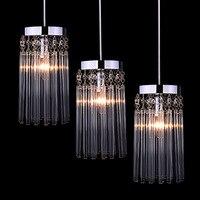 Free Shipping Modern Restaurant Lights Chandelier Crystal Table Lamp Lights Three Single Aisle Corridor Light Zzp