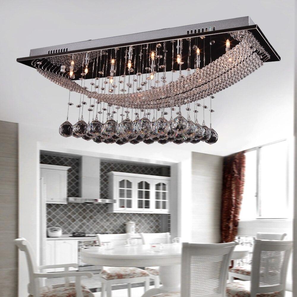 MAMEI Kostenloser Versand Moderne Decke Kronleuchter Kristall Leuchten Enthalten 8 Stcke 3 Watt Weisse LED