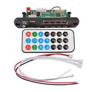 Image 5 - AIYIMA 12 V Bluetooth MP3 Dekoder Kurulu 4 Renkli Ekran USB FM APE FLAC Kayıpsız Çözme kablosuz Bluetooth 5.0 Modülü Handsfree