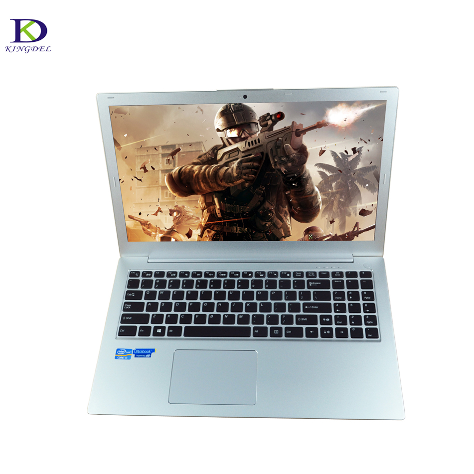 Bluetooth Laptop Computer 15.6 Inch Backlit Keyboard Ultrabook Intel HD Graphics 520 Core I7 6200U Laptop Pc 8G RAM 256G SSD