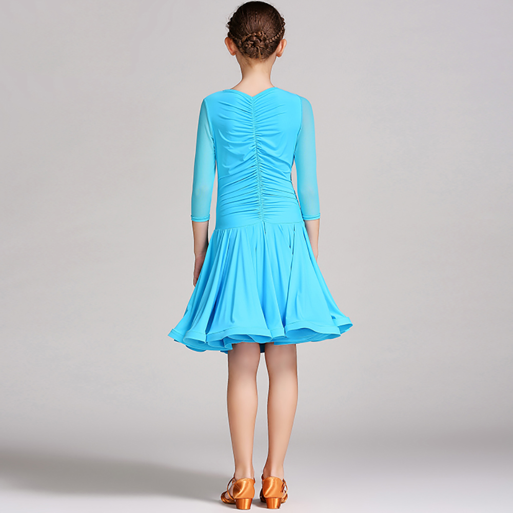 b1b5dc6ad Aliexpress.com : Buy Nice Quality Latin Dance Dresses For Girls Lace Skirts  Pretty Children Cha Cha/ Dance Girl Dresses Dance Dress Standard Girl from  ...