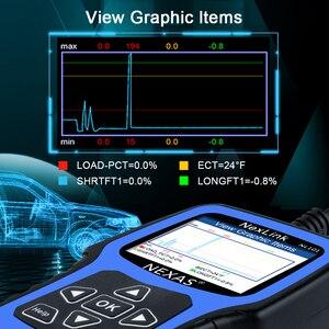 Image 5 - NEXAS NL101 OBD2 Ô Tô Máy Quét Động Cơ Vape Pin OBDII Máy Quét PK CR3001 ELM327 Chuyên Nghiệp EOBD OBD Xe Công Cụ Chẩn Đoán