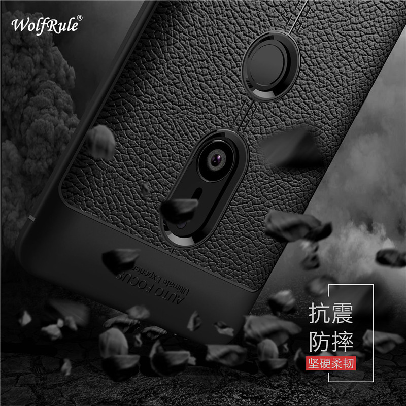 Wolfrule Sfor Case Sony Xperia XZ3 Cover Shockproof Luxury Leather TPU Back Case For Sony Xperia XZ3 Phone Fundas For Sony XZ3 ]
