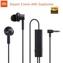 الأصلي شاومي 3.5 مللي متر ANC سماعة الهجين 3 وحدة 2 الصف إلغاء الضوضاء نشط إلغاء الضوضاء مرحبا الدقة سماعات